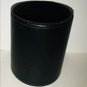 Other - New Black Cylinder Pen Pencil Makeup Brush Holder